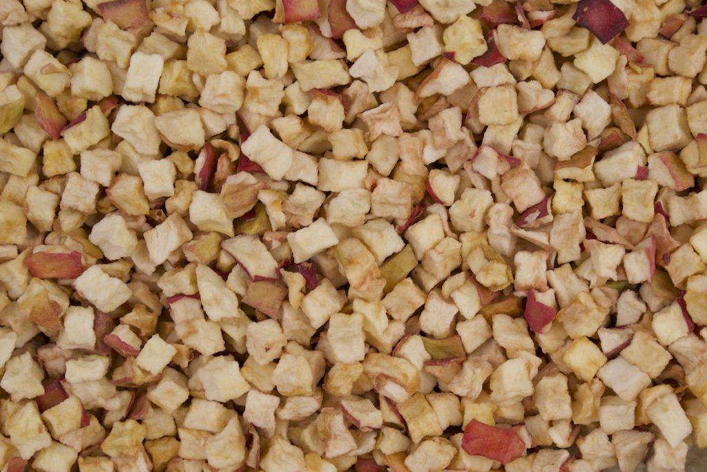Jabłko - Kostka -10X10X10 mm